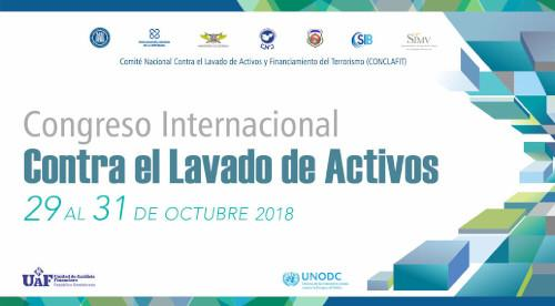 Celebrarán Congreso Internacional contra el Lavado de Activos